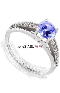 4X Ring Size Adjuster Invisible Clear Ring Sizer Jewelry Fit