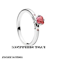 Authentic Pandora sterling silver YOU AND ME ring #196574CZR