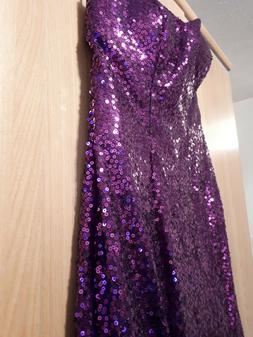 Grace Karin - Evening / Prom / Party Dress - Purple x Chiffo