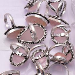 Genuine & Created Stone Ring 1pcs Ring 925 Sterling Silver P