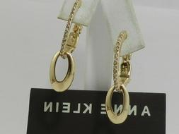 Anne Klein Gold-Tone E-z Clip-On   Earrings