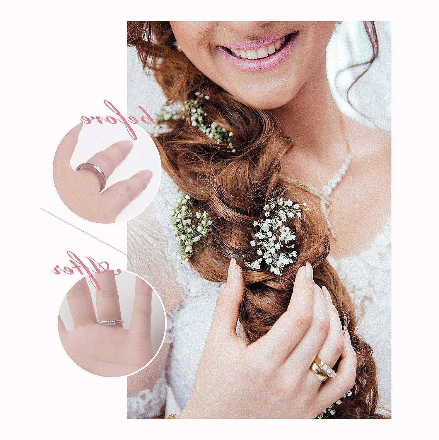 12 Pcs Ring Adjuster Invisible Ring Sizer Jewelry Guard