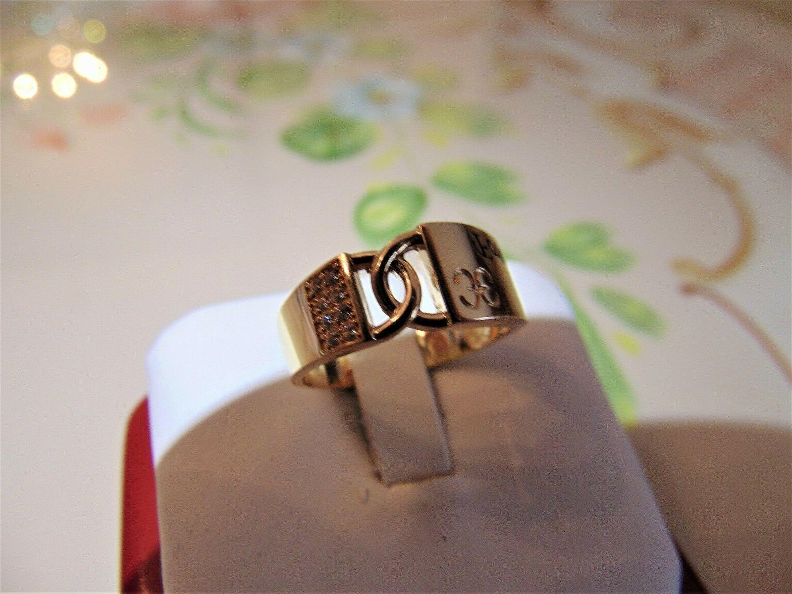 """14k man made ring engagement One"""""""