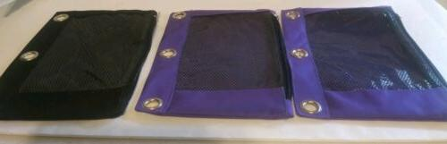 3 ring binder pencil pouch with zipper