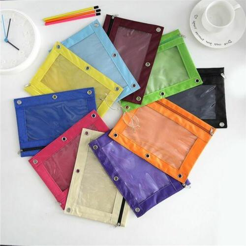 Binder Zipper with Ring