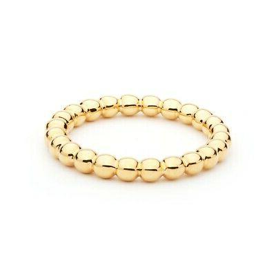 circle bubble statement stackable ring 5 sizes