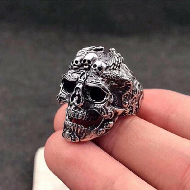 cool men s stainless steel gothic punk