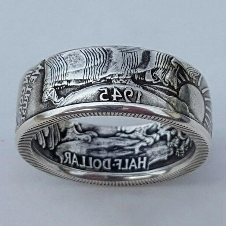 Fashion Silver Plated Rings for Men Jewelry Party Rings Free