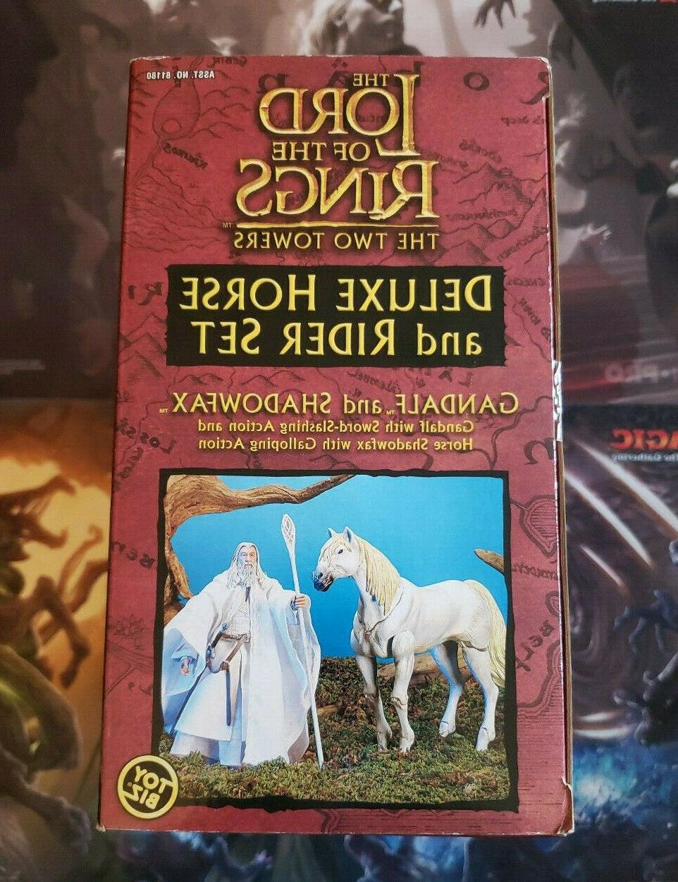 GANDALF AND SHADOWFAX THE LORD THE RINGS LOTR HORSE RIDER