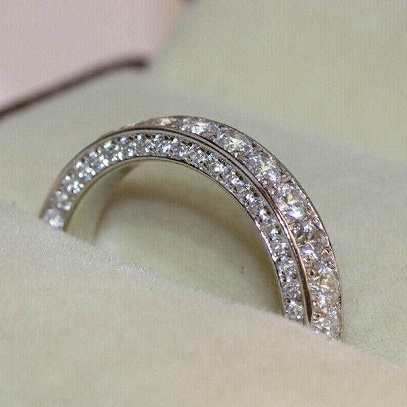 Gorgeous 925 Silver for Rings Jewelry Size