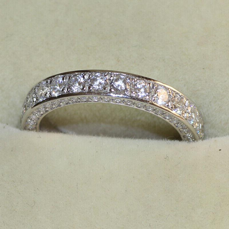 Gorgeous for White Sapphire Rings Size