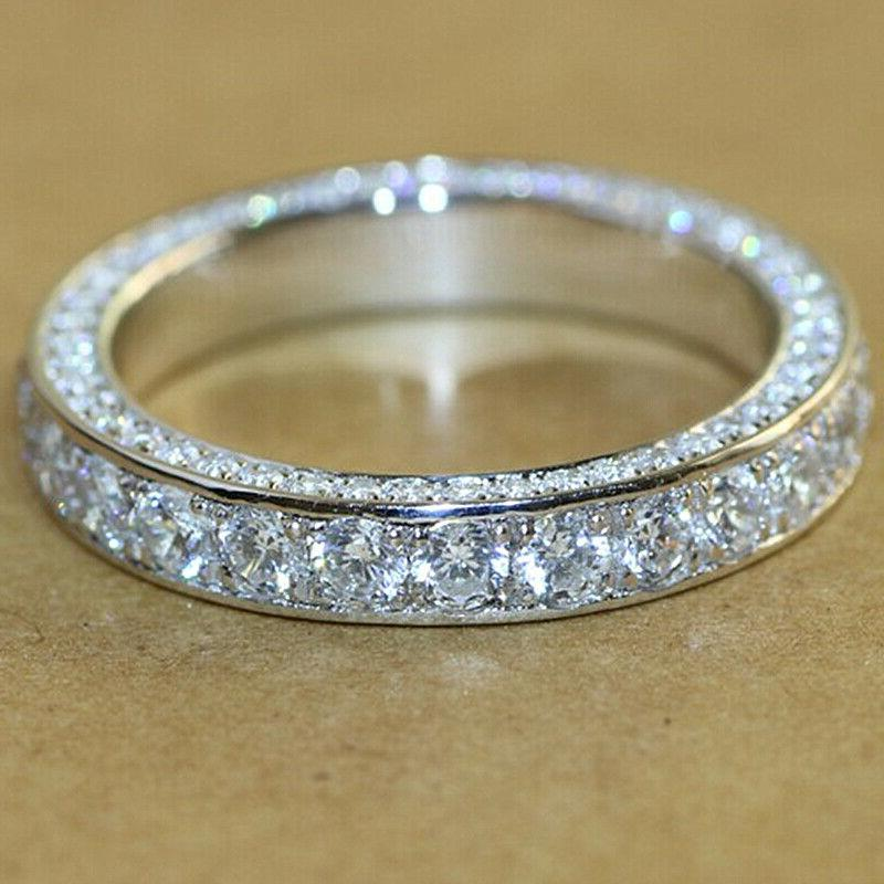 gorgeous 925 silver rings for women white