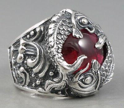 HEAVY FORTUNE JAPANESE RED RING