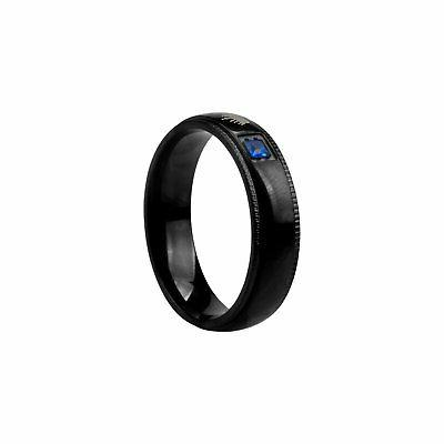 King Stainless Steel Lover Couple Ring Promise Band