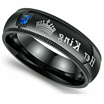His Couple Engagement Band