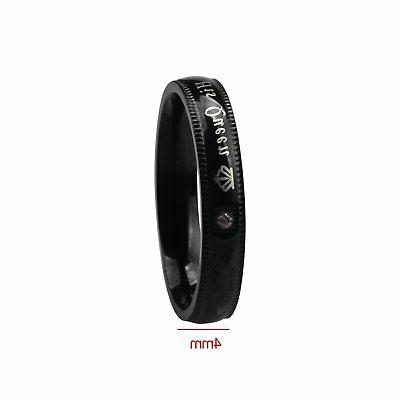 His Queen and Her King Stainless Steel Lover Couple Band