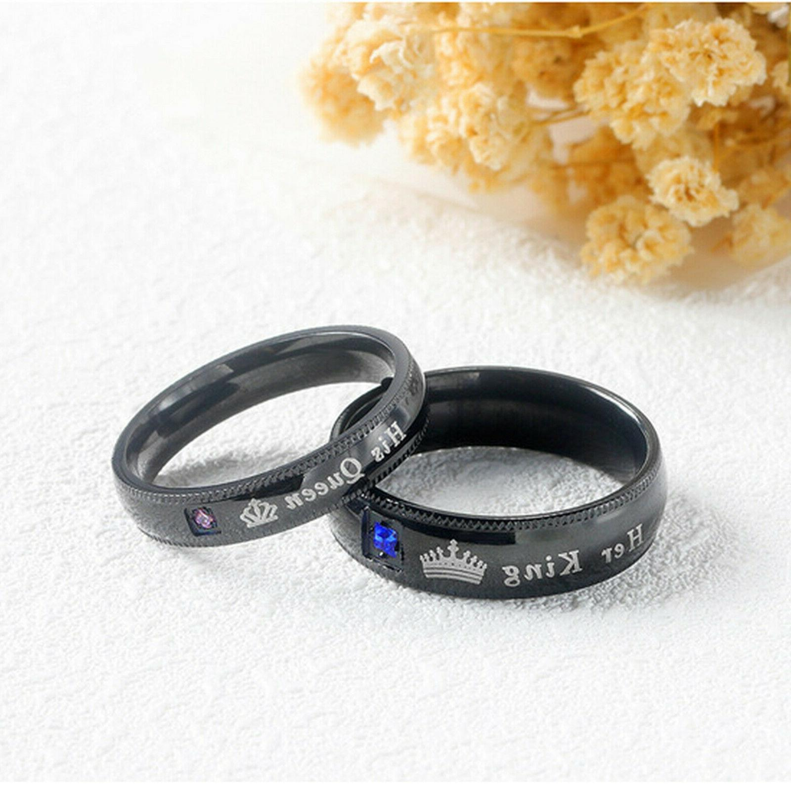His King Couple's Matching Ring Band