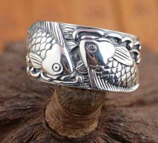 JAPANESE LUCKY TATTOO RING