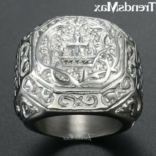 Male Ring Stainless Ring Fit Rings 8-13 Size