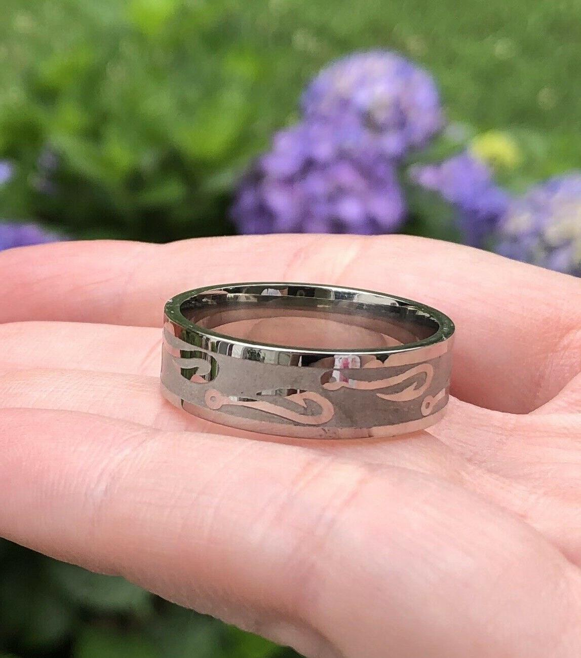 *NEW* Silver Band - Sz 14