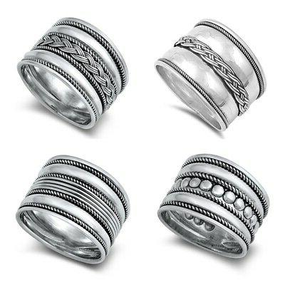 new sterling silver 925 design ring sizes