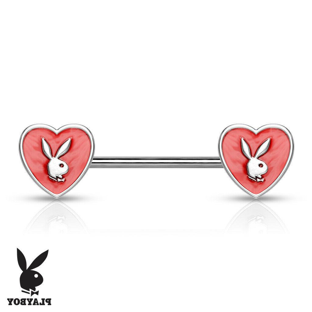 PAIR Bunny Surgical Steel Rings
