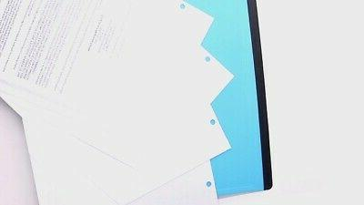 Eagle Portable Binder 3-Hole with Tray,