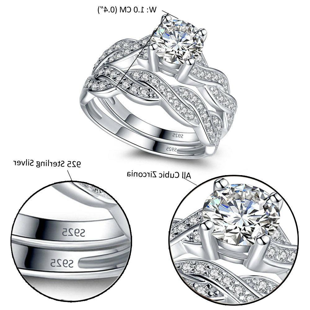 Solid Women's Ring Band Set