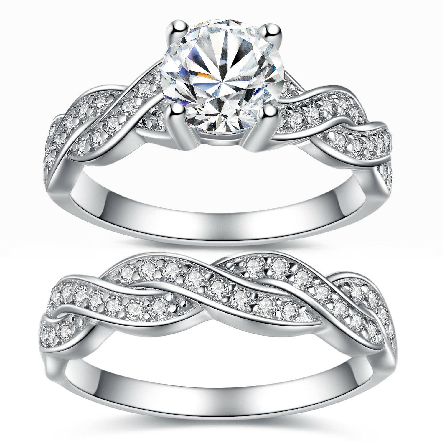 Solid Sterling Women's Wedding Ring