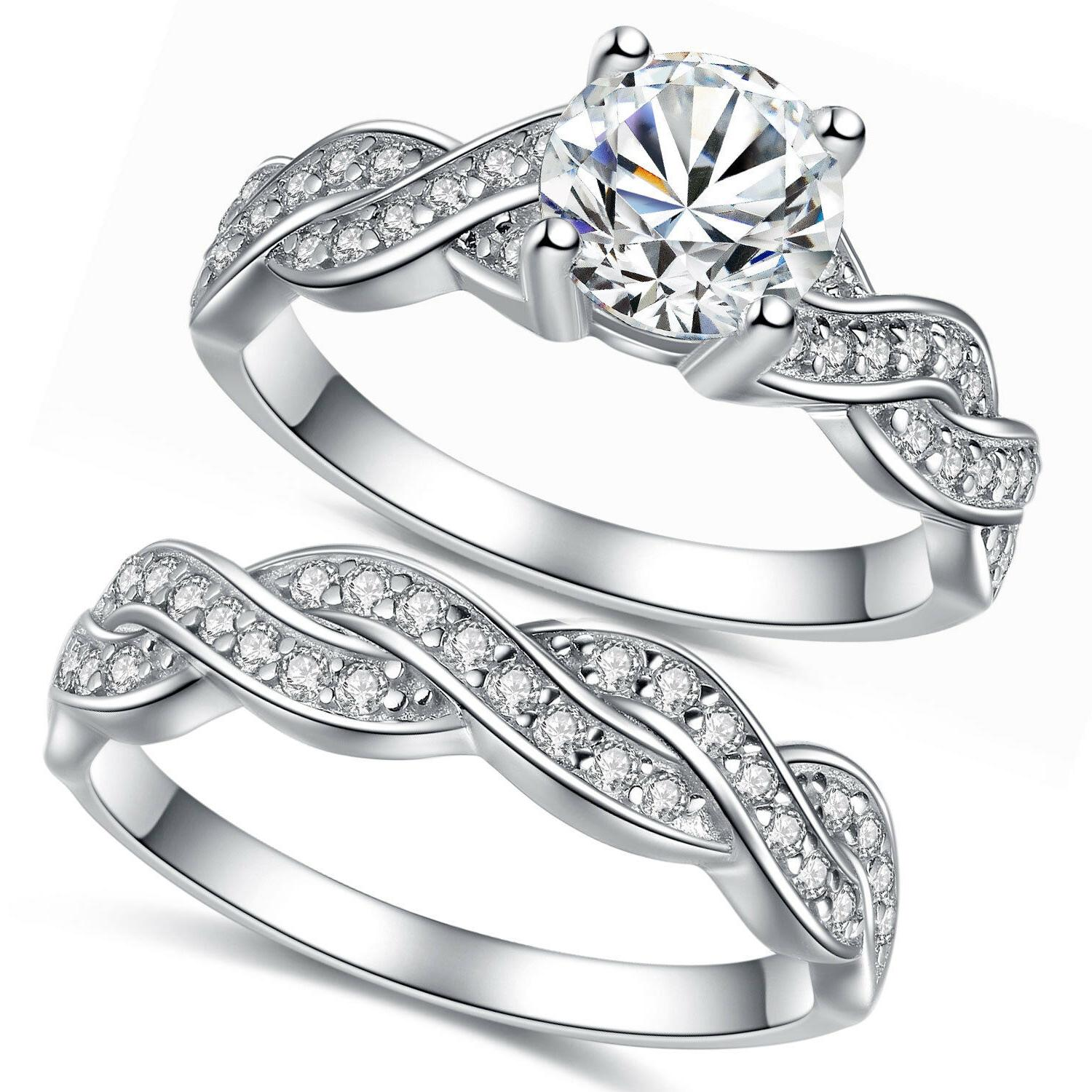 Solid Ring Band Set