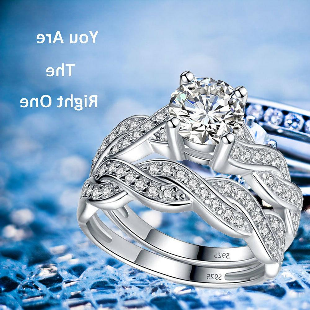 Solid Sterling Infinity Women's Ring
