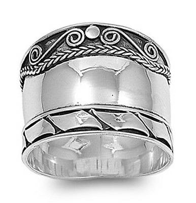 sterling silver womans bali fashion india ring