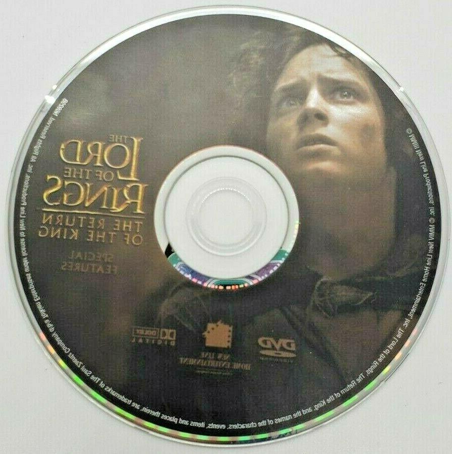 The Lord of the Rings: The Return of the King (DVD, 2004, 2-