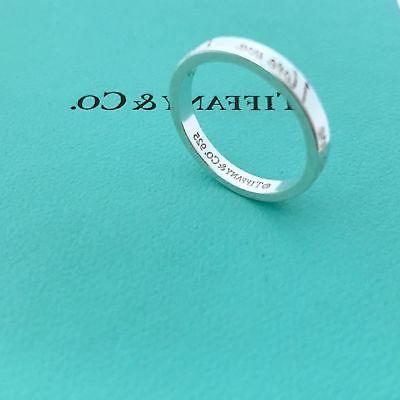 tiffany and co sterling silver i love