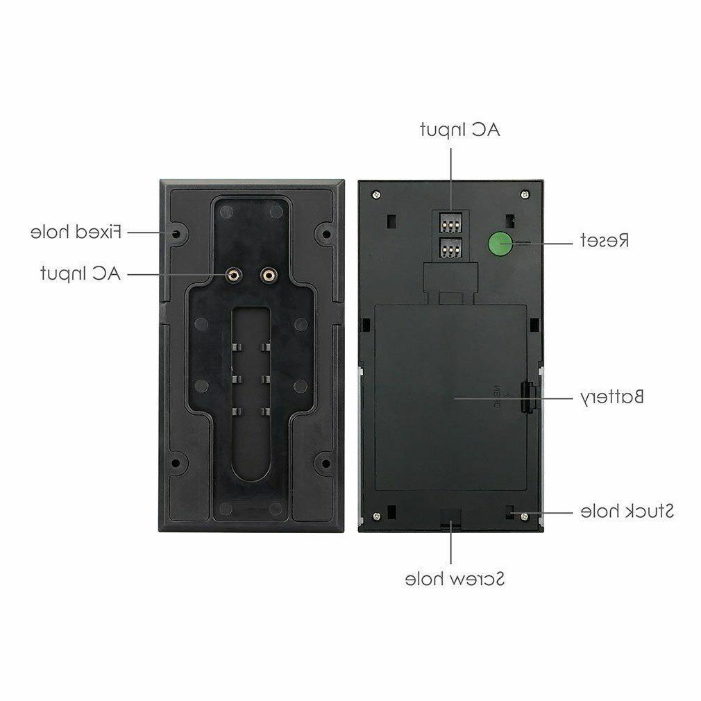 WIFI Doorbell Camera Chime Vision
