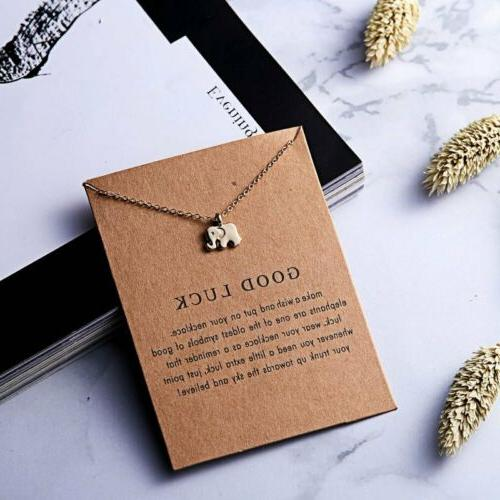 Womens Animal Owl Clavicle Pendant Gold Chain