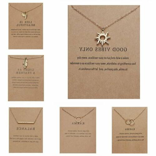 Womens Animal Owl Clavicle Paper Pendant Gold