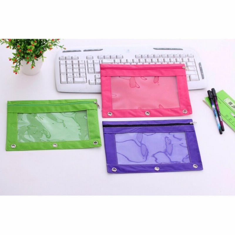 Hot Zippered Pouch with Hole Case