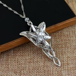 Lord of The Rings Arwen's Necklace arwen evenstar pendant cr