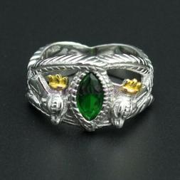 LORD OF THE RINGS JEWELRY ARAGORN'S RING OF BARAHIR 925 STER