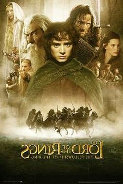 LORD OF THE RINGS MOVIE POSTER, USA Version