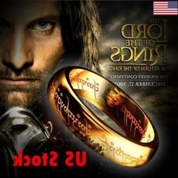 Lord of the Rings The One Ring Lotr Stainless Steel Fashion