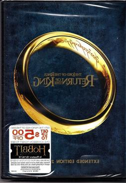 #5 LORD OF THE RINGS RETURN OF KING Brand New Extended DVD S