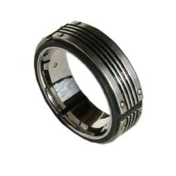 Fossil Men's Stainless Steel Ring JF83553 New