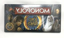Monopoly The Lord Of The Rings Trilogy Edition Game New 2012