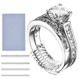 Ring Size Adjuster 16 Invisible Clear Ring Sizer Jewelry Fit