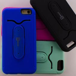 Ring Kickstand Hybrid Protective Phone Cover Case for Apple