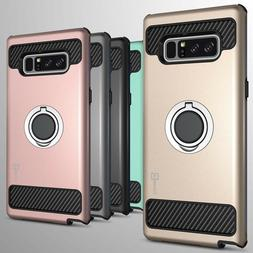 For Samsung Galaxy Note 8 Hybrid Armor Protective Ring Phone