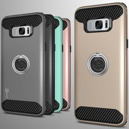 For Samsung Galaxy S8 Plus Hybrid Armor Protective Ring Phon
