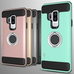 For Samsung Galaxy S9 Plus Hybrid Armor Protective Ring Phon